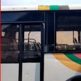 Bus de Transmetro atacado