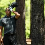 Tiger Woods regresa al Masters de Augusta de forma discreta