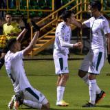 El barranquillero Pablo Sabbag marcó en la victoria del Deportivo Cali