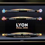 Arsenal vs. Atlético de Madrid, 'final' anticipada de la Europa League