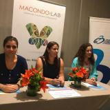Paola Amar, Patricia Sáenz y Beatriz Dávila.