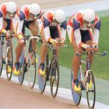 Dos quintos puestos fue lo máximo que alcanzó el equipo español de ciclismo en los Juegos Olímpicos de Atlanta 1996.