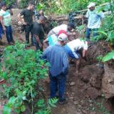 Minero informal murió aplastado por alud de tierra en la Zona Bananera