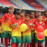Integrantes del equipo Atlético Barranquilla.