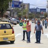 Alcalde Char habilita la carrera 44 con calle 76 en sentido norte - centro