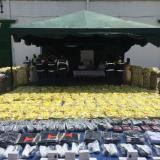 Dian decomisa cargamento con camisetas de contrabando de la selección Colombia