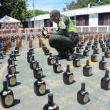 Incautan 2.000 botellas de licor ilegal en Valledupar
