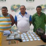 Capturan a tres hombres en Soledad con drogas y armas de fuego