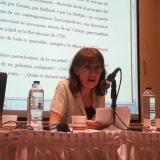 La poetisa Annie Le Brun, en Uninorte.