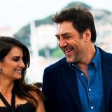 Los esposos y actores españoles Javier Bardem y Penélope Cruz .