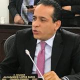 Alexander López Maya, senador del Polo Democrático.