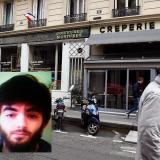 Esta es la calle en donde se registró el ataque en París. En el recuadro el presunto agresor Khamzat Azimov.
