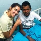 Paulina Vega, el sueño que le da fuerzas a niño de Galeras, Sucre