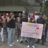 Venezolanos residentes en Barranquilla invitan a no votar