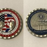 Trump y Kim Jong Un: lanzan moneda conmemorativa con sus rostros