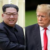 Los presidentes, Kim Jong Un y Donald Trump.