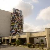 Fachada del Hospital Universitario Cari E.S.E de alta complejidad.