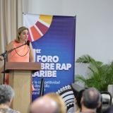 María Claudia Páez, presidenta ejecutiva de la Cámara de Comercio de Cartagena.