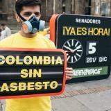 """""""Con cifras obsoletas se está desinformando sobre el peligro del asbesto"""", defensores de proyecto"""