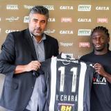 Yimmi Chará ya viste con los colores del Atlético Mineiro