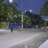 De manera voluntaria familias venezolanas desalojan la Terminal de Transporte
