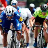 Fernando Gaviria, segundo en la octava etapa de la Vuelta a Suiza