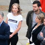 'Colombianísima', la camiseta de 'Tutina' de Santos que llamó la atención durante las elecciones