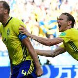 Suecia vence a Corea del Sur con un penal de VAR