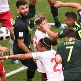 Australia logra empate 1-1 ante Dinamarca gracias al VAR