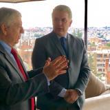 Duque se reunió con expresidente Gaviria