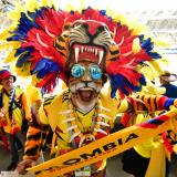 Afición colombiana dice presente en Rusia