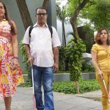 Gloria Malabett, Sergio Cobo y María Janeth Villaveces.