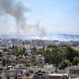 22 civiles muertos deja bombardeo aéreo en Siria