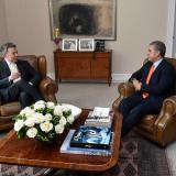 Así avanza el empalme entre gobiernos de Duque y Santos