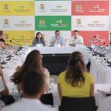 Los gobernadores se reunieron con el ministro de Minas y la superservicios.