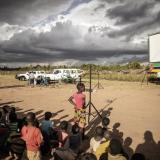 Un Mundial bajo las estrellas en aldeas lejanas de Mozambique
