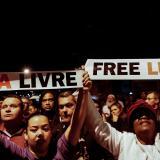 Seguidores de Lula da Silva piden su liberación.