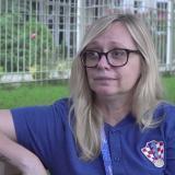 En video   Conozca a Iva Olivari, la 'jefa' de Croacia en el Mundial de Rusia