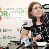 La gobernadora (e) de Córdoba, Sandra Devia.