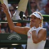 Angelique Kerber vence a Serena Williams y gana su primer Wimbledon