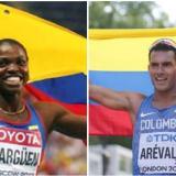 Caterine Ibargüen y Éider Arévalo, figuras colombianas en el atletismo de Barranquilla 2018