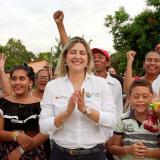 Pelayeros volvieron a elegir a la alcaldesa María Alejandra Forero