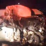 Accidente de tránsito deja 13 muertos en el centro de México