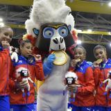 Cuba gana el oro en gimnasia artística femenina