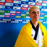Isaac Vélez le da oro a Colombia en Taekwondo