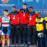 Cuba y Trinidad & Tobago ganan oro en ciclismo de pista