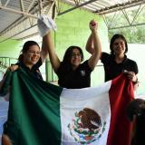 La campeona de Copa Mundo Alejandra Zavala gana el oro en tiro deportivo