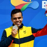 Iván López le da la primera medalla a Colombia en tiro deportivo