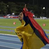 Bernardo Baloyes, un oro de 200 metros