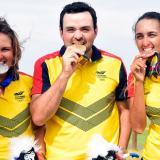 Colombia alcanza oro, plata y bronce en el golf